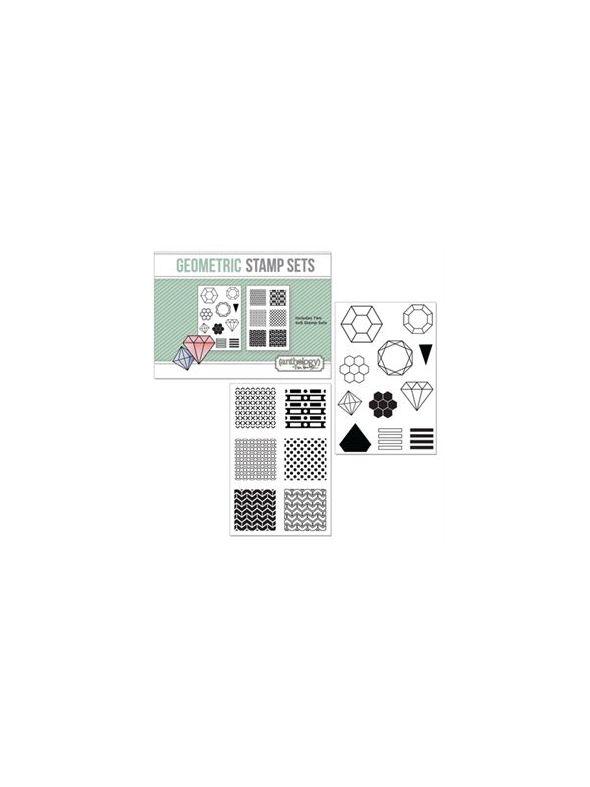 Geometric Stamp Set