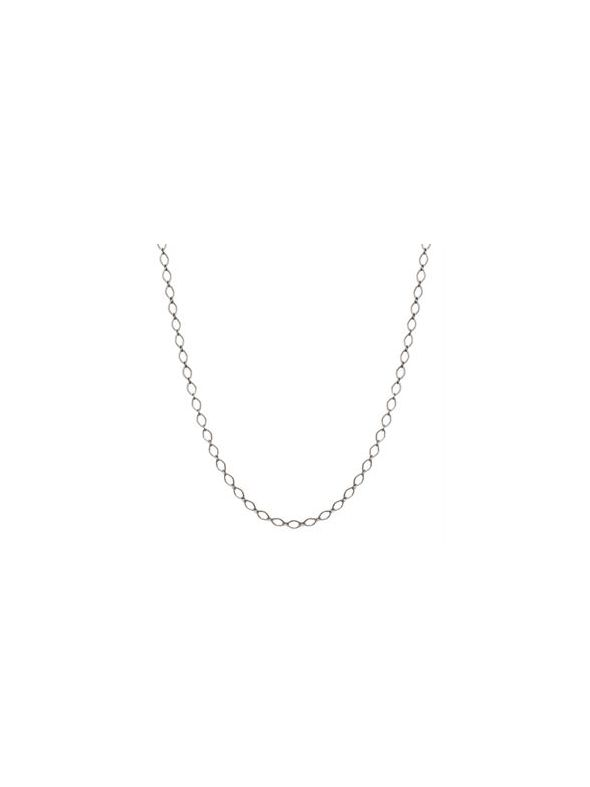 Nickel-Safe Silver Sofia Chain: 16-19""