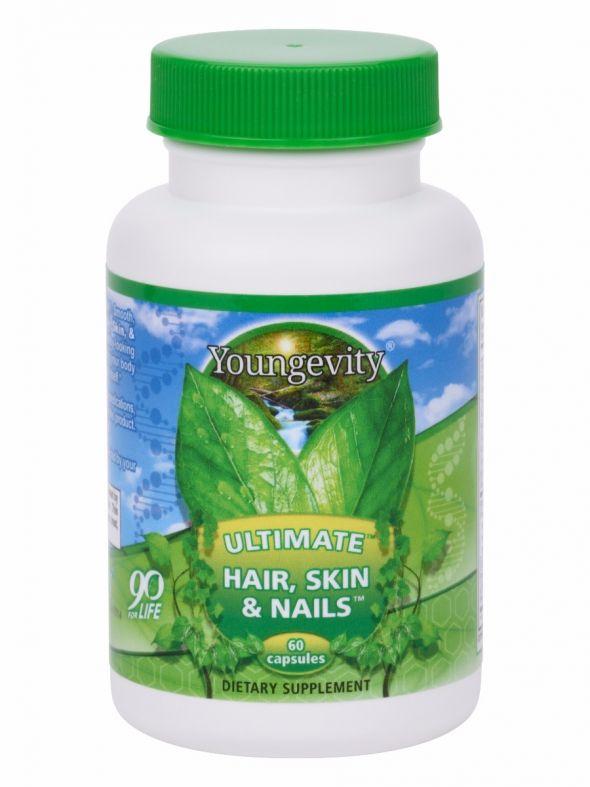 Ultimate Hair, Skin & Nails™ - 60 capsules (4 Pack)