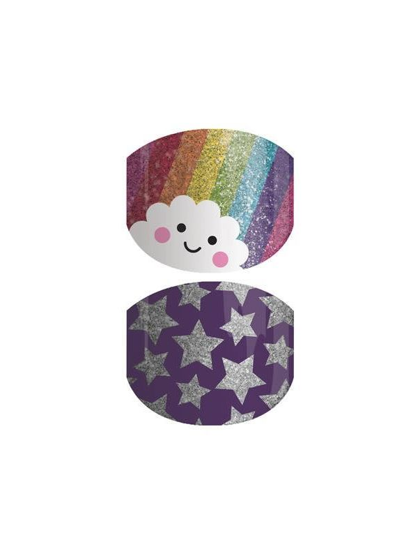 Rainbow Cutie Jr - Nail Wrap