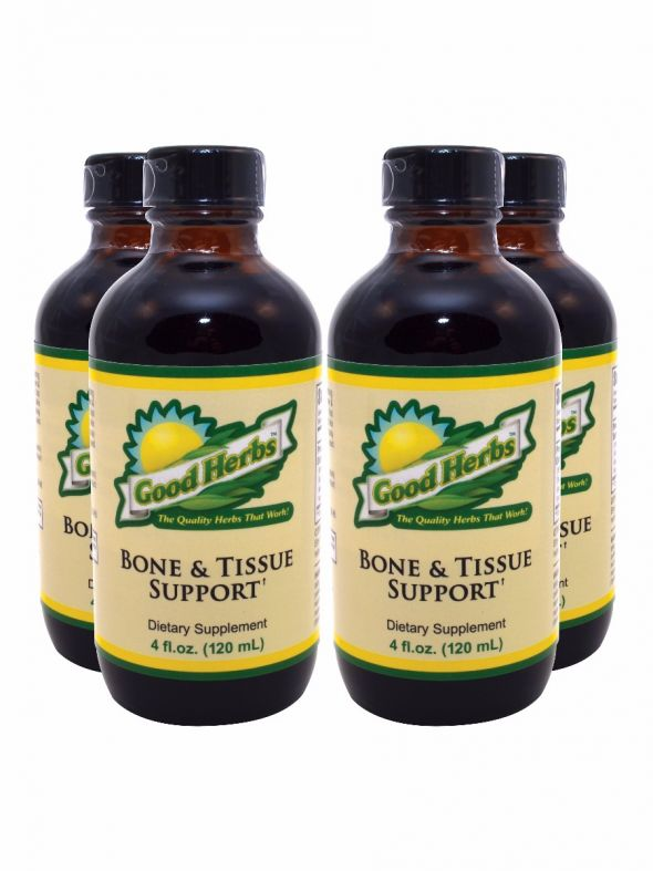 Bone and Tissue Support (4oz) - 4 Pack