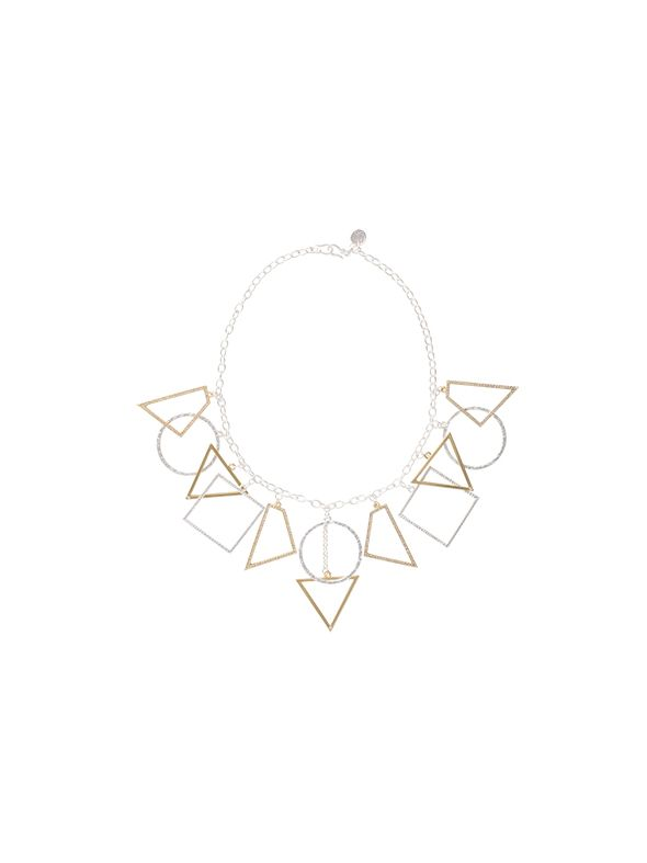 Geometric Expression Necklace