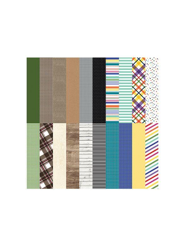 Wonder Designer Coordinates by Lauren Hinds Designer Cardstock - Set 10
