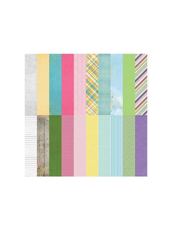 Wonder II Designer Coordinates by Lauren Hinds Designer Cardstock - Set 10
