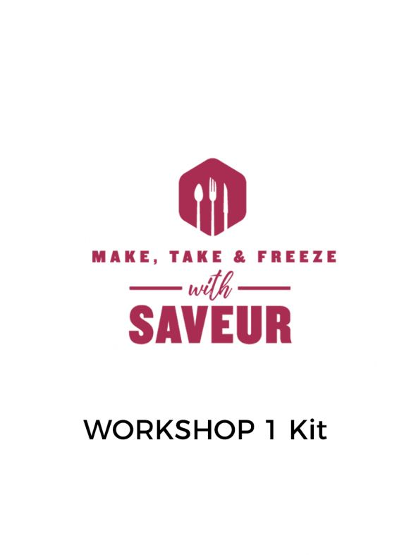Make, Take and Freeze Workshop Kit 1